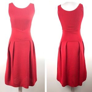 Christian Dior - fit & flare sleeveless knit dress